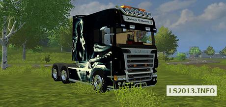 Scania-Longliner-Airbrush