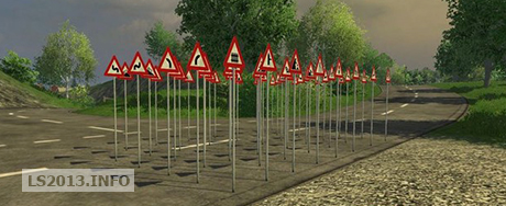 Traffic-Warning-Signs