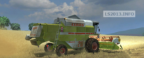 Claas-Mega-218-Pack-v-2-0 - Farming simulator 2013, 2015 mods