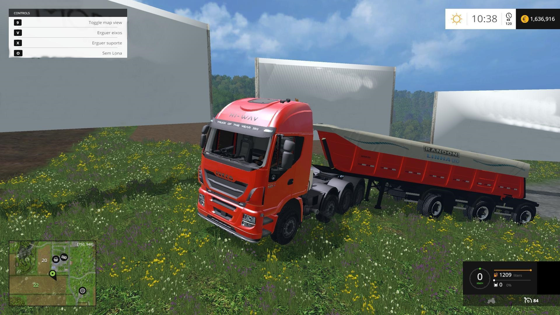1424170565 iveco stralis 560 8x4 trailer v1 1 IVECO STRALIS 560 8X4 + TRAILER V1