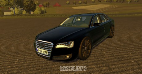 Audi A8 v 1 0 MR - Farming simulator 2013, 2015 mods