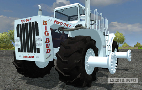 Big Bud 747 >> Big Bud 16V 747 v 3.0 - Farming simulator 2013, 2015 mods