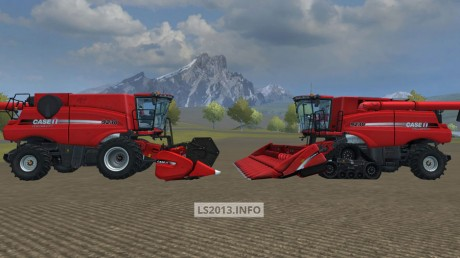 Case ih axial flow