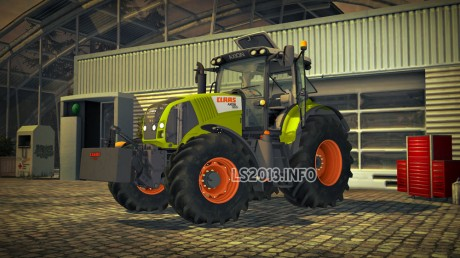 Claas Axion 830 v 4.0 460x258 Claas Axion 830 v 4.0 MR