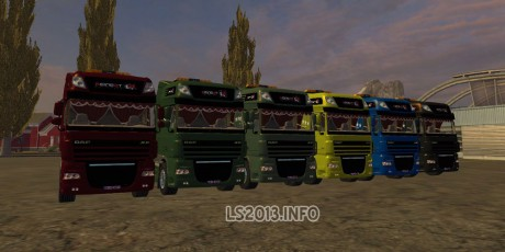 DAF Trucks Pack v 1.0 460x230 DAF Trucks Pack v 1.0
