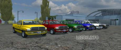Dodge Ram Pack v 1.0 460x190 Dodge Ram 2500 Pack v 1.0