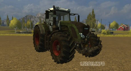 Fendt 936 Vario SCR Dirt 460x250 Fendt 936 Vario SCR Dirt
