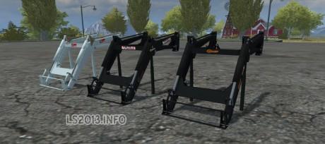 Frontloaders Pack v 1.0 460x204 Frontloaders Pack v 1.0
