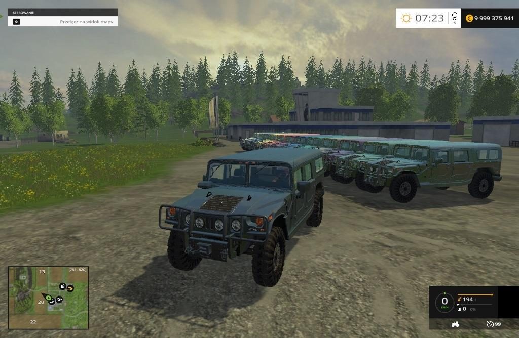 HUMMER H1 ALPHA for FS 2015 1 HUMMER H1 ALPHA CAR