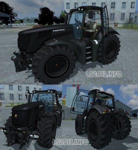 JCB Fastrac 8310 v 2.0 Black 460x500 JCB Fastrac 8310 v 2.0 Black
