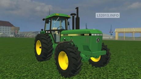 Farming Simulator 2013 John Deere 4850