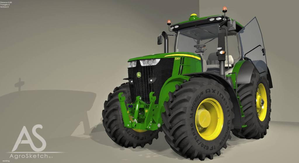 John Deere 7290R Tractor 1024x558 John Deere 7290R