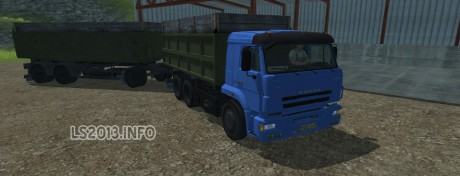 Kamaz Euro 420 Turbo+Trailer v 2.0 460x176 Kamaz Euro 420 Turbo + Trailer v 2.0