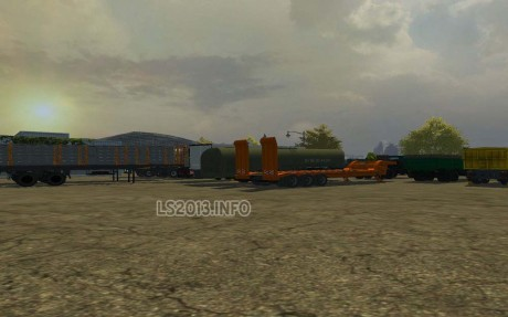 Kraz Trucks and Trailers Pack v 2.1 2 460x287 Kraz Trucks and Trailers Pack v 2.1