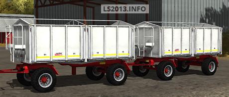 kroeger agroliner hkd 302 white v 1 0 farming simulator 2013 2015 mods. Black Bedroom Furniture Sets. Home Design Ideas