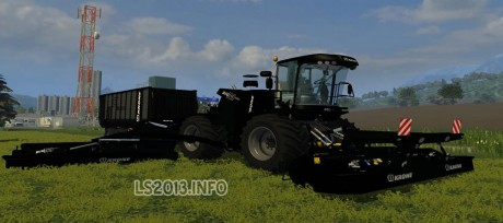 Krone Big M500BB and ZX450BB Black Edition 460x204 Krone Big M500 and ZX450 Black Edition
