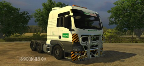 MAN TGX BayWa Edition 460x212 MAN TGX BayWa Edition