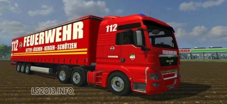 MAN TGX Feuerwehr Edition+Trailer 460x211 MAN TGX Feuerwehr Edition + Trailer