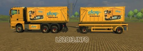 MAN TGX HKL with Container v 3.0 460x165 MAN TGX HKL with Container v 3.0