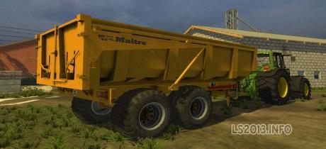 Maitre BMM 140 - Farming simulator 2013, 2015 mods