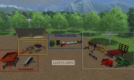 More Realistic Small Farm Implement Pack on john deere excavators