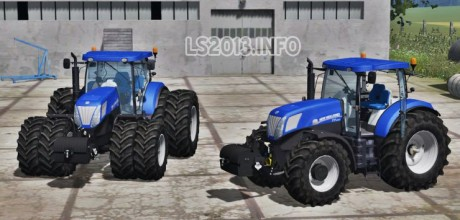 New Holland T 7.220 Blue Power 460x220 New Holland T7.220 Blue Power