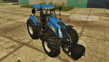 New Holland T 8020 v 2.0 MR 460x262 New Holland T8020 v 2.0 MR