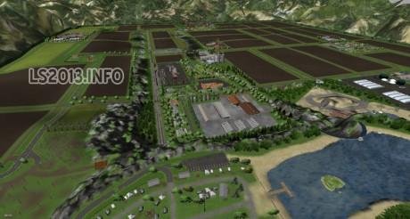Triple Farming Map v 1.0 - Farming simulator 2013, 2015 mods