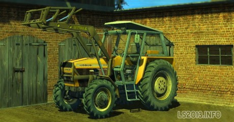 Ursus 1014 Frontloader 460x240 Ursus 1014 + Frontloader