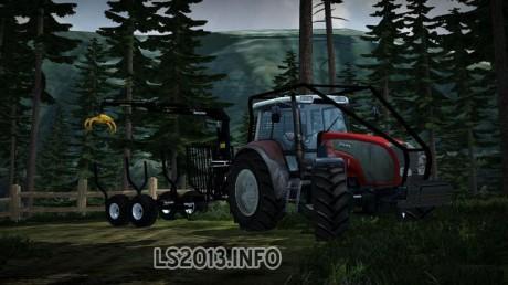Valtra T 140 Forest Edition 460x258 Valtra T140 Forest Edition