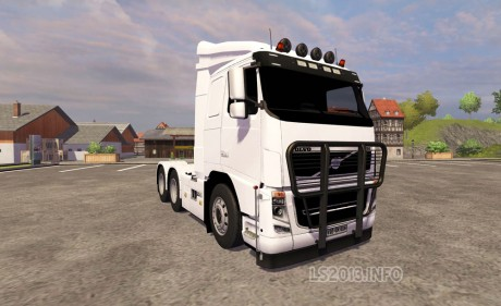 Volvo FH 16 6x4 460x281 Volvo FH16 6×4